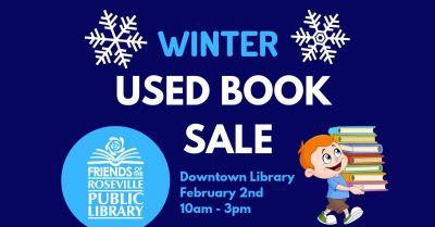 Friends of the Roseville Public Library Used Book Sale