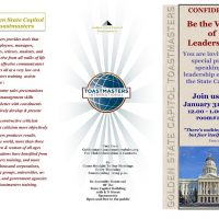 Golden State Capitol Toastmasters Model Meeting