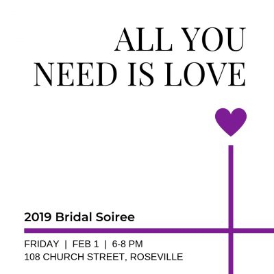 All You Need is Love Bridal Soiree