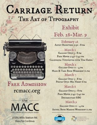 Carriage Return: The Art of Typography