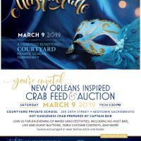 Courtyard Mardi Gras Crab Feed 2019