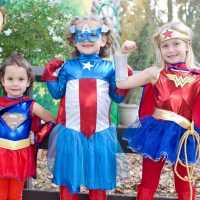 Superhero Day at Fairytale Town