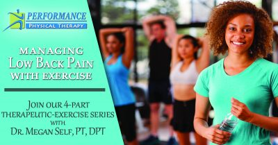 Managing Low-Back Pain: Four-Part Exercise Series