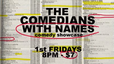 The Comedians With Names Comedy Showcase