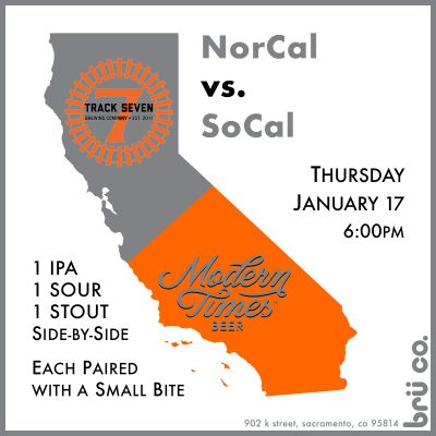 NorCal vs. SoCal Beer and Food Pairing