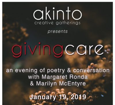 Akinto Creative Gatherings: Giving Care
