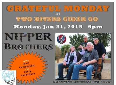 Grateful Monday at Two Rivers Cider