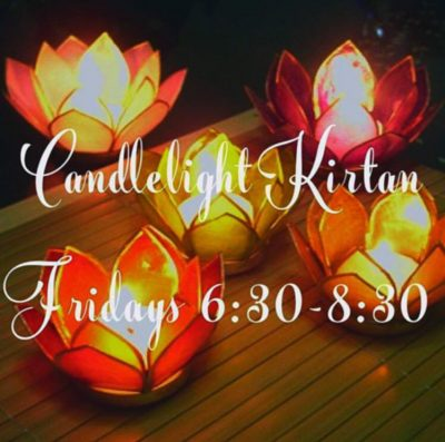 Friday Candlelight Kirtan