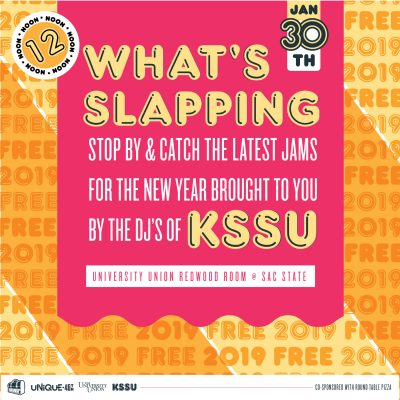 Wednesday Nooner: What's Slapping with KSSU