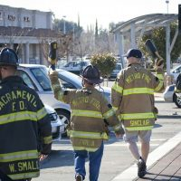 Firefighters Fill the Boot for Burns Fundraiser