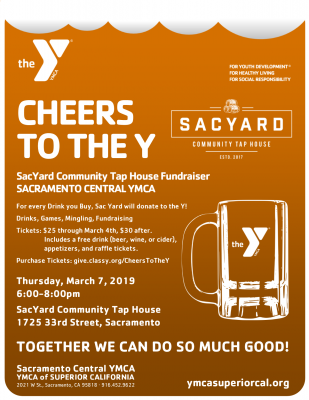 Cheers to the Y!