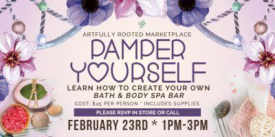 Pamper Yourself: Bath and Body Spa Class