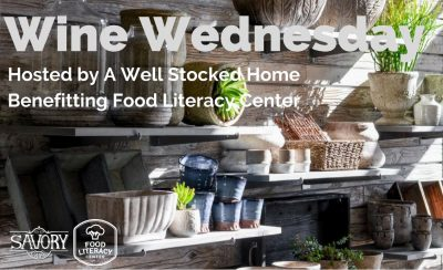 Wine Wednesday: Benefiting the Food Literacy Center