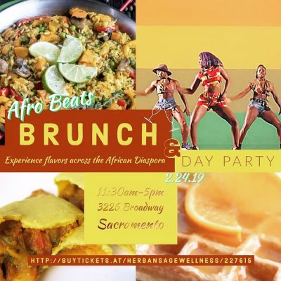 A Taste of Home: Afro Beats Brunch and Day Party