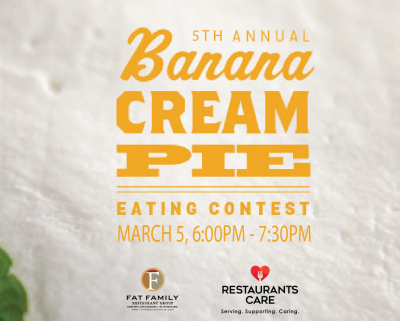 Banana Cream Pie Eating Contest