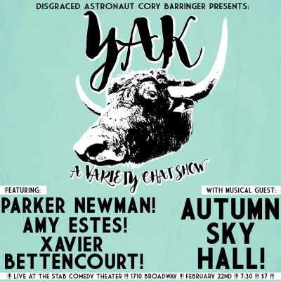 YAK with Autumn Sky Hall