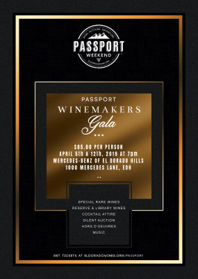 El Dorado Passport Winemaker Galas