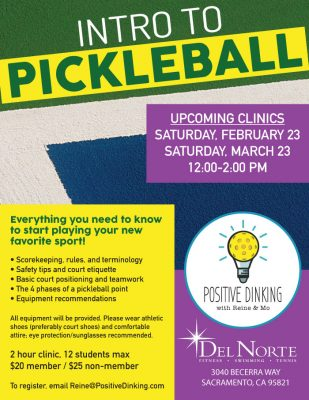 Intro to Pickleball