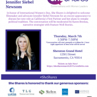 She Shares: A Conversation With First Partner Jennifer Siebel Newsom