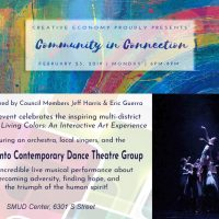 Creative Economy Presents Community in Connection