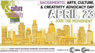 Arts, Culture, and Creativity Advocacy Day