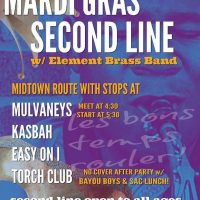 Mardi Gras Second Line