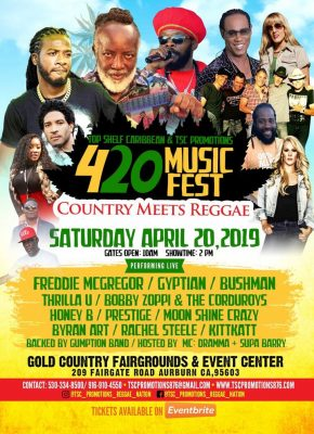 Top Shelf Caribbean presents 420 Music Fest