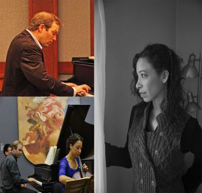 Cello and Piano Duo: Adrienne Taylor and Andrei Baumann