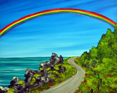 May The Road Rise Paint and Sip