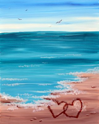 Summer Love Paint and Sip