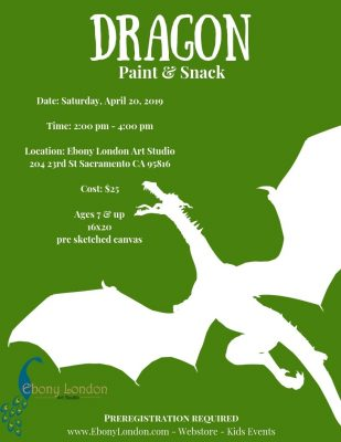 Dragon Paint and Snack