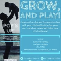 Pop's Up! Father and Child Fitness Class