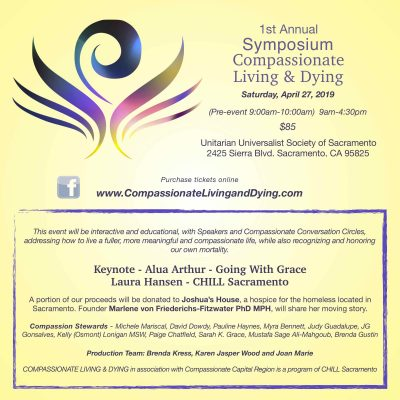Compassionate Living and Dying Symposium