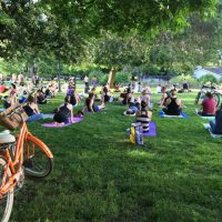 First Friday Fun Flow Yoga presented by Sutter Health