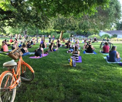 First Friday Fun Flow Yoga presented by Sutter Hea...
