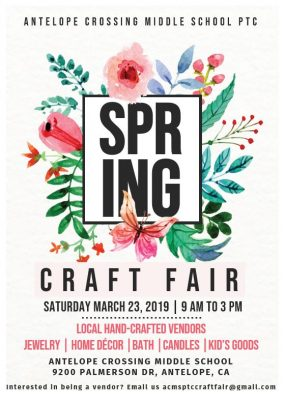 Antelope Crossing Spring Craft Fair
