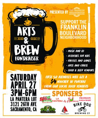 Arts and Brew Fudraiser
