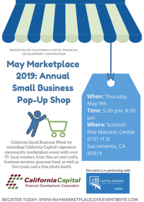 May Marketplace: Small Business Pop-Up Shop