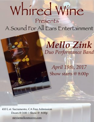 Mello Zink at WHIRED Wine Bar