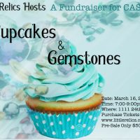 Cupcakes and Gemstones Fundraiser