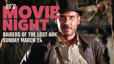 Movie Night at Urban Roots: Raider's Of The Lost Ark