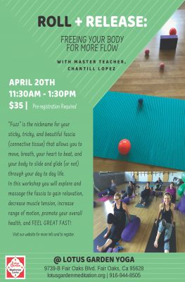 Roll and Release with Chantill Lopez