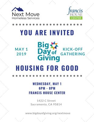 Next Move's Big Day of Giving Kick-Off Gathering