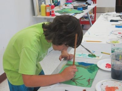 Crocker Art Camp: My Planet Earth