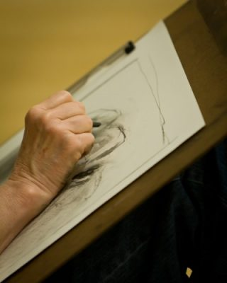 Drawing with Wet and Dry Media