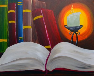Burning the Midnight Oil Painting Event