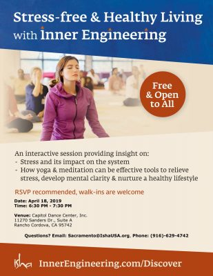 Inner-Engineering: Stress-Free and Healthy Living