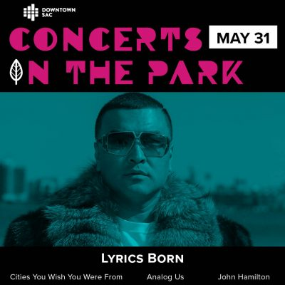 Concerts in the Park: Lyrics Born