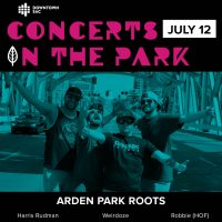 Concerts in the Park: Arden Park Roots