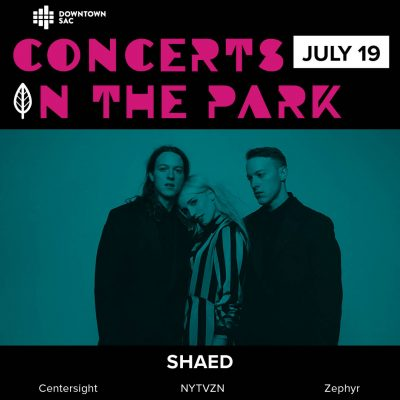 Concerts in the Park: SHAED